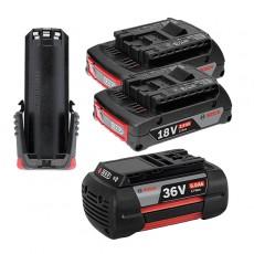 보쉬 리튬 배터리 모음 3.6V/10.8V/18V/2.0Ah/3.0Ah/4.0Ah