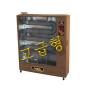[타이거킹]튜브히터(원적외선 석유히터/석유돈풍기/석유열풍기) TKH-121W (고급우드,30평형)