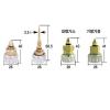 [현대공업]용단기 밸브-대형절단기용(고압/저압/가스 선택)/가열기용(산소/가스공용)