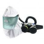 오토스 에어윙 전동식 호흡 보호구/내화학용 전동팬 세트(에어윙3) AW-300-1GH