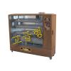 [타이거킹]튜브히터(원적외선 석유히터/석유돈풍기/석유열풍기) TKH-161W (고급우드,40평형)