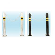 [국제안전공사]안전차단봉(앙카식,매립식타입) 스테인레스차단봉/스틸차단봉 착불택배
